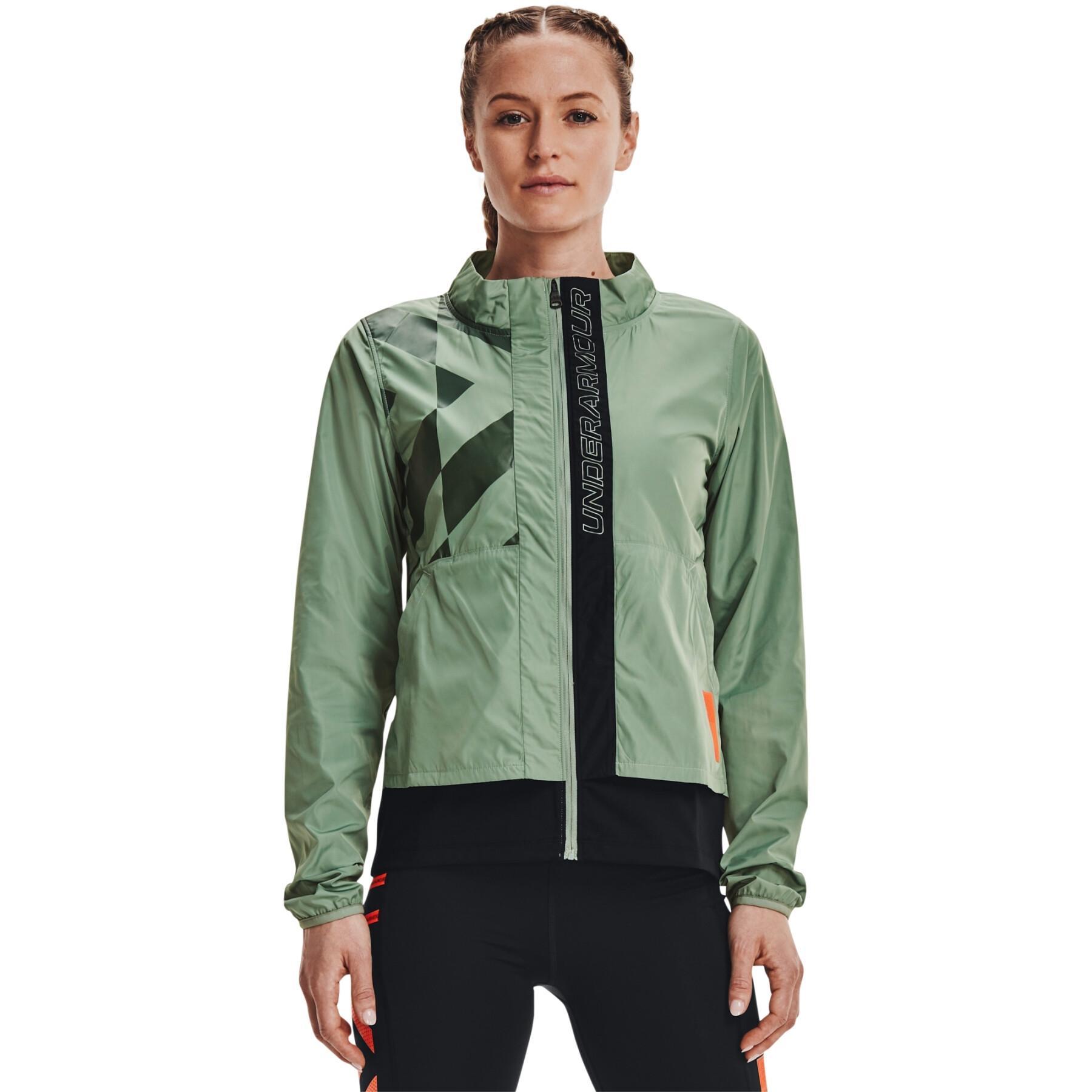 Women's jacket Under Armour Run Anywhere Laser