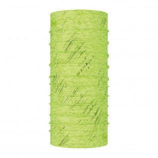 Anti-UV neckband Buff reflective r-lime htr