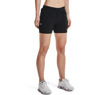 Women's 2-in-1 shorts Under Armour Iso-Chill Run