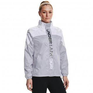 Women's Under Armour woven jacket recoverShine