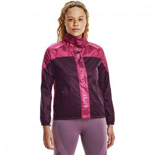 Women's jacket Under Armour tissée recover Shine