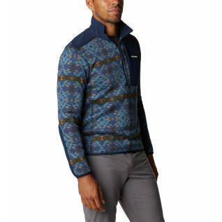 Columbia Sweatshirt 1/2 zip Columbia Sweater Weather Printed