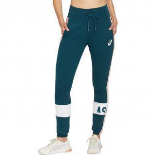 Pants woman Asics Colorblock