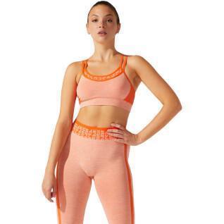 Seamless bra for women Asics Cropped Logo