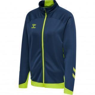 Women's zip-up jacket Hummel hmlLEAD poly