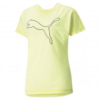 Women's Puma Train Favorite Jersey Cat T-Shirt