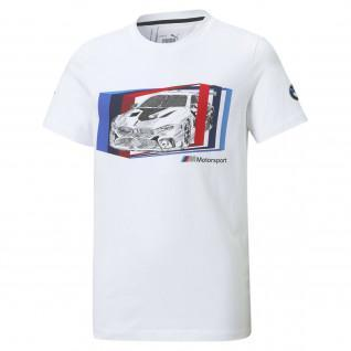 Children's Puma T-shirt BMW MMS Car Graphic