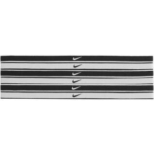 Pack of 6 Nike Swoosh tipped hair bands