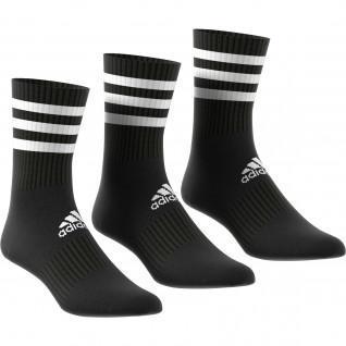 adidas 3-Stripes Cushioned 3-Pair Socks