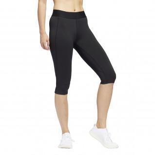 adidas Women's Alphaskin Capri Tights