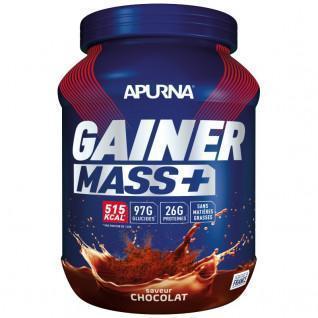 Pot Apurna Gainer Mass Plus - Chocolate - 1.1 Kg