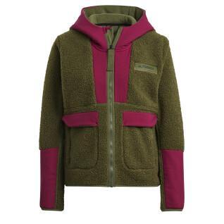 Sweatshirt woman adidas Terrex Sherpa ed Fleece