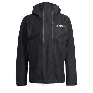 Rain jacket adidas Terrex Primeknit