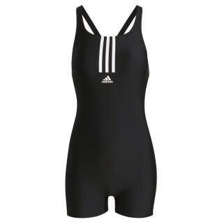 Women's swimsuit adidas Padded Mid Stripes Leg