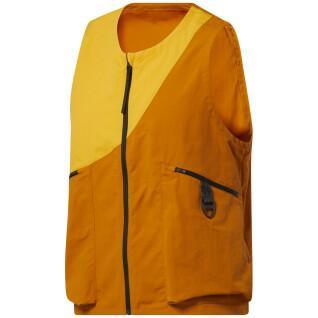 Sleeveless canvas jacket Reebok Road Trip