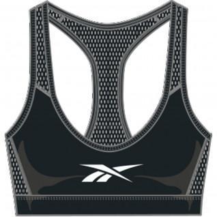 Women's bra Reebok Lux Racer Medium-Impact Sports Grande Taille