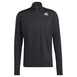 Sweatshirt with zip adidas Own the Run