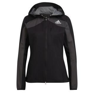 Women's hooded jacket adidas Adizero Marathon