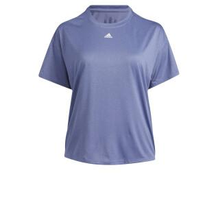 Women's T-shirt adidas Training 3-Stripes Aeroready (Grandes tailles)