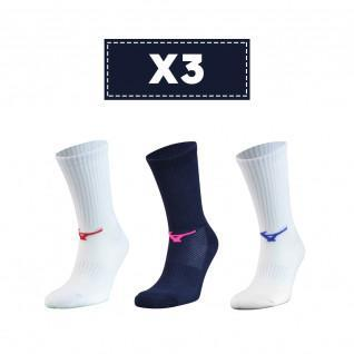 Set of 3 socks Mizuno Multisports
