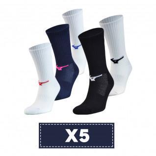 Set of 5 socks Mizuno Multisports