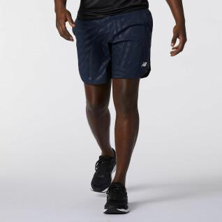 2in1 Short New Balance printed fast flight 7 In
