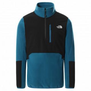 1/4 Zipped Polar Fleece Sweater The North Face Glacier Pro