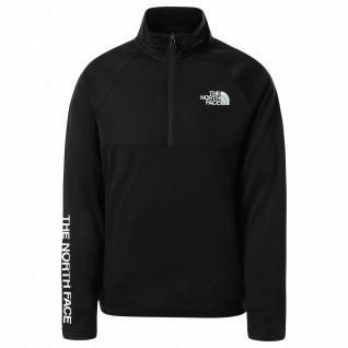 Kids 1/4 zip sweatshirt The North Face FlashDry