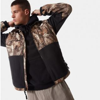 Sleeveless jacket with The North Face print
